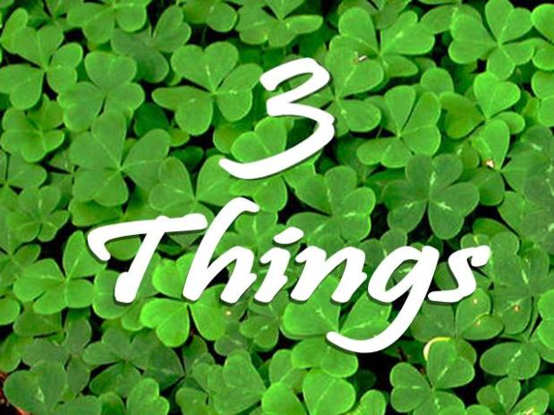 THREE THINGS – PS 1